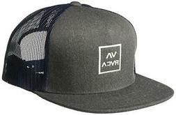RVCA Men's Va All The Way Mesh Back Trucker Hat