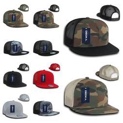 Men Mesh Trucker Baseball Cap Snap back Camo Army Military H