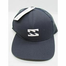 Billabong Mens All Day Trucker Hat Cap Indigo Blue One Sz Fi