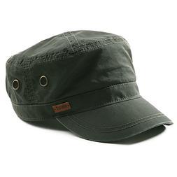 Fancet Mens Cotton Army Cap Military Size 8 Hat Women Large