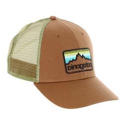 Patagonia   Mens Line Logo Badge LoPro Trucker Hat   Coriand