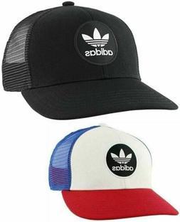 Adidas Mens Originals Mesh Trucker Target Snapback Cap Hat R