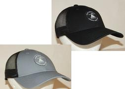 Adidas Mens Reaction Trucker Hat / Cap Snapback Black/Black