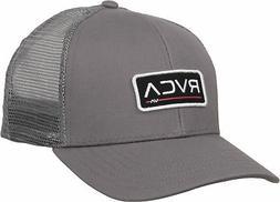 RVCA Mens VA Sport Ticket Trucker II Trucker Snapback Hat -