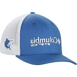 Columbia Junior Mesh Ball Cap, Vivid Blue/Marlin, One Size