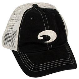 Costa Del Mar Mesh Hat, Black