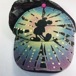 Disney Mickey Mouse MeshBack Snapback Trucker Cap Hat Pink U