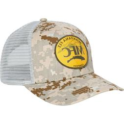 Montana Fly Fishing Company Mountain Logo Trucker Hat Cap -