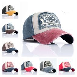 Distressed Trucker Hats Gorras Snapback Hat Sports Wash Cap