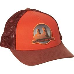 Mountain Life Outdoor Research Trucker Hat Cap Orange NWT To