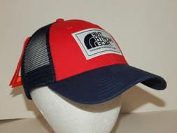 The North Face Mudder Trucker Hat / Cap NEW Mesh Snapback Bl