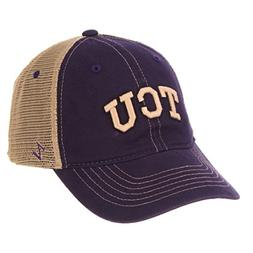 ZHATS NCAA TCU Horned Frogs Men's Institution Relaxed Cap, A