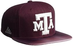 adidas NCAA Texas A&M Aggies Men's Dotted Snapback, Maroon,