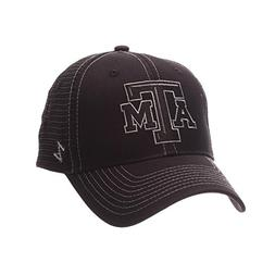 ZHATS NCAA Texas A&M Aggies Adult Men's Staple Trucker Black