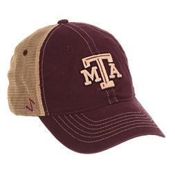 ZHATS NCAA Texas A&M Aggies Men's Institution Relaxed Cap, A