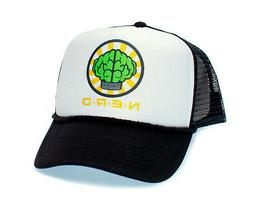 NERD NEPTUNES Trucker Hat Mesh Hat Snapback cap Black Curved
