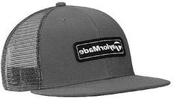 NEW 2020 Taylormade Trucker Flatbill Mesh Snapback Grey Hat