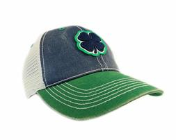 New Black Clover 2T #2 Two Tone Navy/Stone/Gree Trucker Mesh