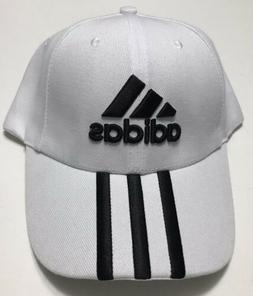 New Adidas 3 Stripes Lime White Strapback Hat - Men's Acti