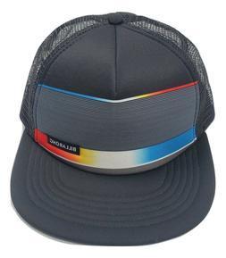 New Billabong All Day Men's Black Trucker Mesh Snapback Cap