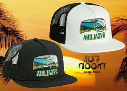 New RVCA Aloha Trucker Mens Snapback Cap Hat