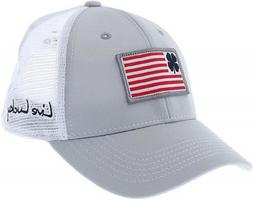 New Black Clover Brave Luck Trucker Mesh #1 Grey/White Adjus