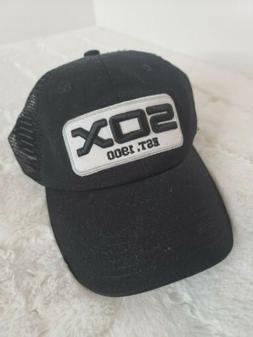 New Chicago White Sox Est 1900 Black Mesh Trucker Hat SGA Ad