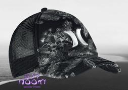 New Hurley Colin Womens Snapback Black Trucker Cap Hat