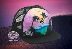 New VANS Dolphin Beach Womens Trucker Snapback Cap Hat