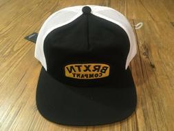New Brixton Dulla Black, Yellow & White Trucker Snapback Hat