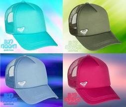 New Roxy Finishline Womens Snapback Trucker Cap Hat