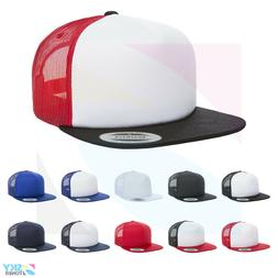 Yupoong Foam Trucker Cap Sponge Backing 5-Panel Structured H