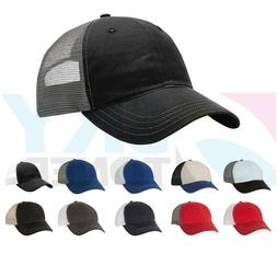 new garment washed trucker ball cap snapback