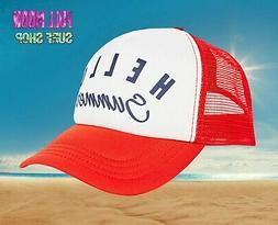New Billabong Hello Summer Across Waves Snapback Womans Truc