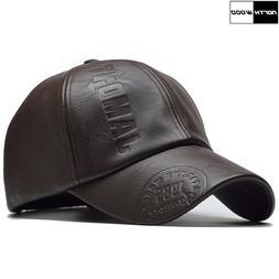New High Quality Winter Cap PU <font><b>Leather</b></font>