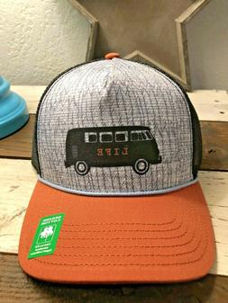 "NEW *prAna Journeyman Trucker Hat ""Dry Chili Van Life"" VW Vo"