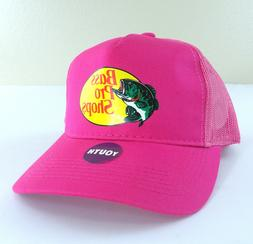 New BASS PRO SHOPS Kids TRUCKER HATS Unisex YOUTH Snap Back