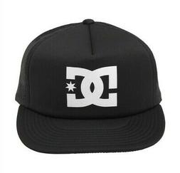 New Licensed DC Shoes SNAPBACK Trucker Hat MIDNIGHT BLACK  D