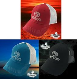 New Costa Del Mar Montage Bass Trucker Mesh Back Cap Hat