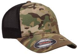 New Flexfit® Multicam® Ballcap Fitted Hat Trucker Mesh Cap