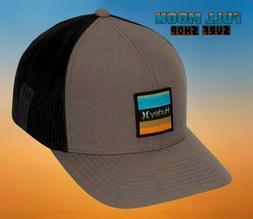 New Hurley Overspray Mens Trucker Snapback Cap Hat