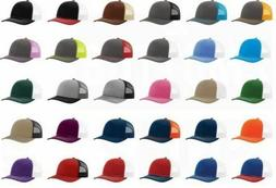 New! Richardson Trucker Ball Cap Meshback Hat Snapback 2-Ton