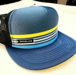 New Billabong Spinner Snapback Trucker Cap Hat