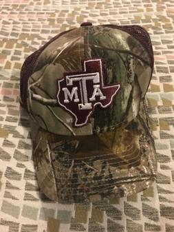 NEW! Adidas Texas A&M Aggies Snapback Camo Mesh Trucker Rare