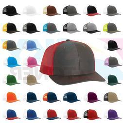Richardson Trucker Ball Cap Meshback Hat Snapback 2-Tone / S