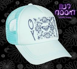 new truckin floral womens snapback trucker hat