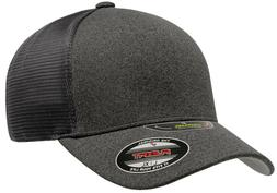 New Flexfit® Unipanel™ Trucker Mesh Curved Visor Cap 5511