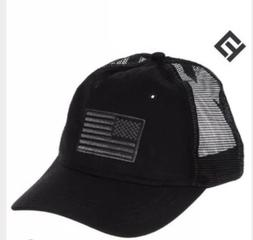 NEW US American Flag Patch Tactical Style Mesh Trucker Baseb