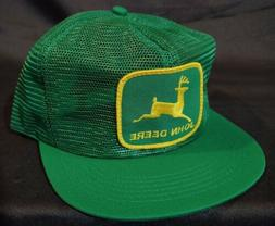 NEW Vintage John Deere Patch Full All Mesh SnapBack Trucker