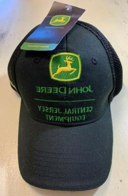 NEW w TAGS John Deere Central Jersey Equipment Embroidered T